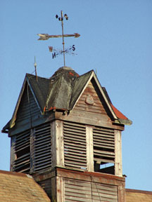 beach barn cupola