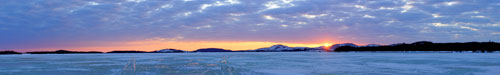 lake chibougamau_at_sunset_panorama5nkj
